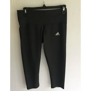 Adidas Techfit Compression Cropped Leggings Size M